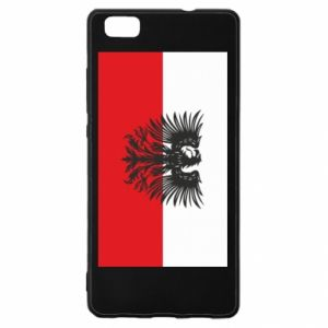 Huawei P8 Lite Case Polish flag and coat of arms