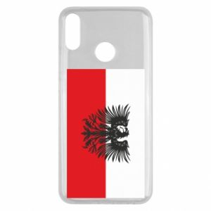 Huawei Y9 2019 Case Polish flag and coat of arms