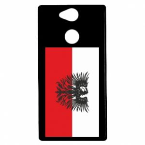 Sony Xperia XA2 Case Polish flag and coat of arms