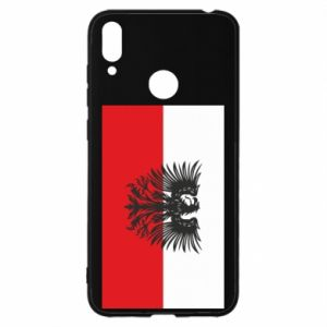 Huawei Y7 2019 Case Polish flag and coat of arms