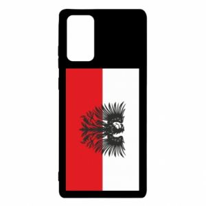 Samsung Note 20 Case Polish flag and coat of arms