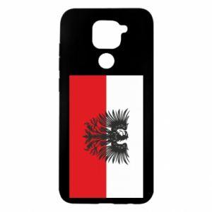 Xiaomi Redmi Note 9 / Redmi 10X case % print% Polish flag and coat of arms