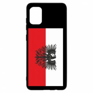 Samsung A31 Case Polish flag and coat of arms
