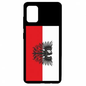 Samsung A51 Case Polish flag and coat of arms