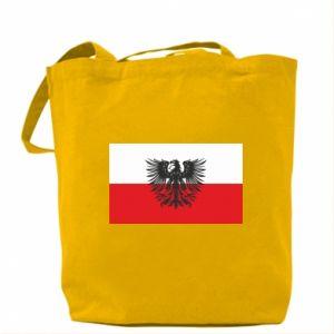 Bag Polish flag and coat of arms