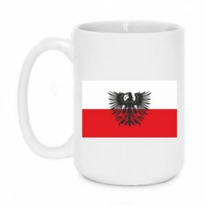 Kubek 450ml Polska flaga i herb