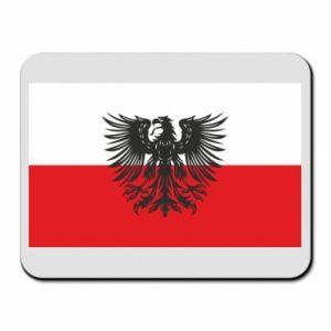 Podkładka pod mysz Polska flaga i herb