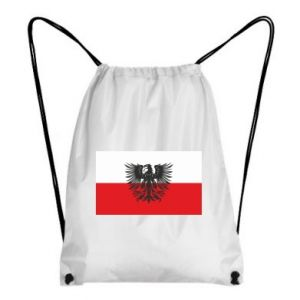 Backpack-bag Polish flag and coat of arms
