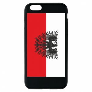 Etui na iPhone 6/6S Polska flaga i herb - PrintSalon