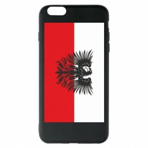 Etui na iPhone 6 Plus/6S Plus Polska flaga i herb - PrintSalon
