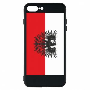 Etui na iPhone 7 Plus Polska flaga i herb - PrintSalon