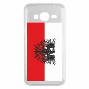 Phone case for Samsung J3 2016 Polish flag and coat of arms