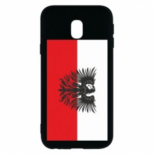Phone case for Samsung J3 2017 Polish flag and coat of arms