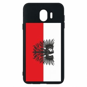 Phone case for Samsung J4 Polish flag and coat of arms