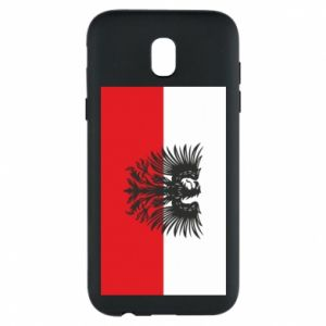 Phone case for Samsung J5 2017 Polish flag and coat of arms