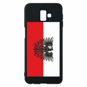 Phone case for Samsung J6 Plus 2018 Polish flag and coat of arms