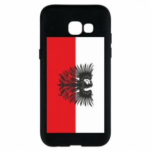 Samsung A5 2017 Case Polish flag and coat of arms
