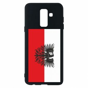 Phone case for Samsung A6+ 2018 Polish flag and coat of arms