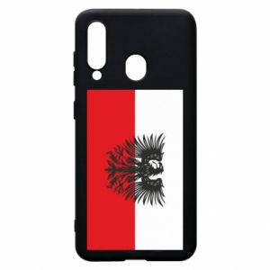 Phone case for Samsung A60 Polish flag and coat of arms