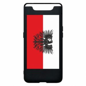 Phone case for Samsung A80 Polish flag and coat of arms