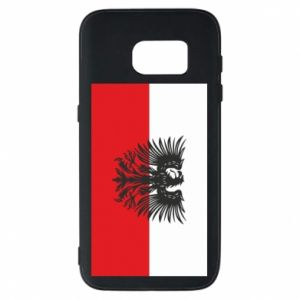 Phone case for Samsung S7 Polish flag and coat of arms