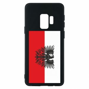 Samsung S9 Case Polish flag and coat of arms