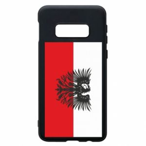 Phone case for Samsung S10e Polish flag and coat of arms
