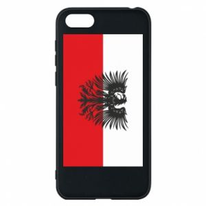 Phone case for Huawei Y5 2018 Polish flag and coat of arms