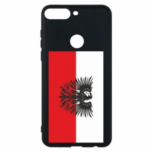 Phone case for Huawei Y7 Prime 2018 Polish flag and coat of arms