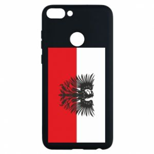 Phone case for Huawei P Smart Polish flag and coat of arms