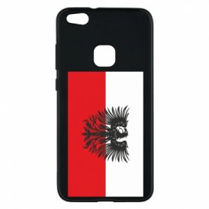 Phone case for Huawei P10 Lite Polish flag and coat of arms