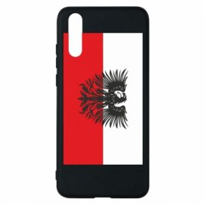 Huawei P20 Case Polish flag and coat of arms