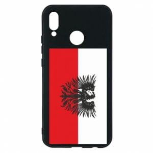 Phone case for Huawei P20 Lite Polish flag and coat of arms