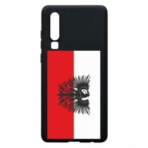 Phone case for Huawei P30 Polish flag and coat of arms