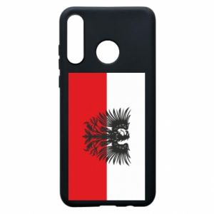 Phone case for Huawei P30 Lite Polish flag and coat of arms