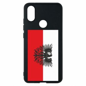 Phone case for Xiaomi Mi A2 Polish flag and coat of arms