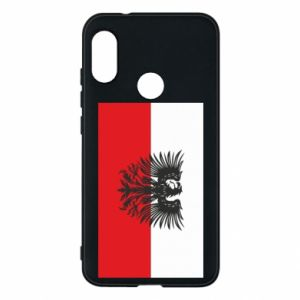Phone case for Mi A2 Lite Polish flag and coat of arms