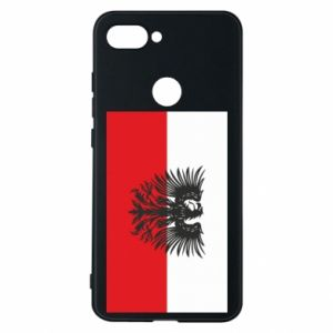 Phone case for Xiaomi Mi8 Lite Polish flag and coat of arms