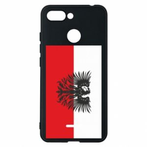 Phone case for Xiaomi Redmi 6 Polish flag and coat of arms