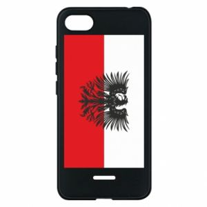 Phone case for Xiaomi Redmi 6A Polish flag and coat of arms
