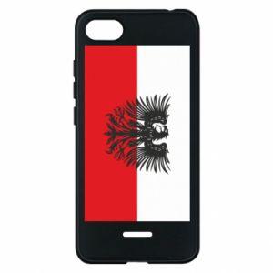 Xiaomi Redmi 6A Case Polish flag and coat of arms