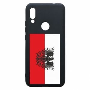 Phone case for Xiaomi Redmi 7 Polish flag and coat of arms