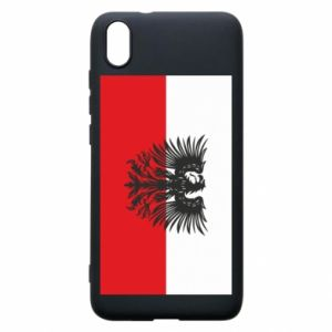 Phone case for Xiaomi Redmi 7A Polish flag and coat of arms
