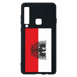 Phone case for Samsung A9 2018 Polish flag and coat of arms