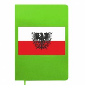 Notes Polska flaga i herb
