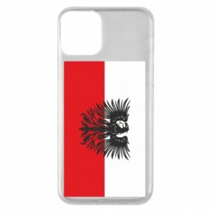 Phone case for iPhone 11 Polish flag and coat of arms