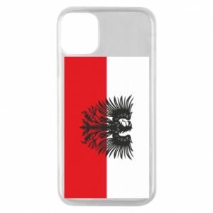 Phone case for iPhone 11 Pro Polish flag and coat of arms
