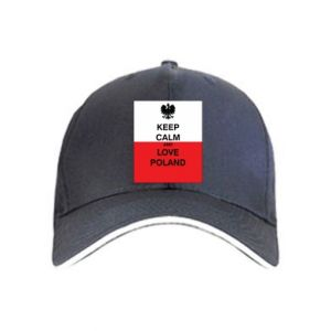 Cap Polish flag with an inscription - PrintSalon