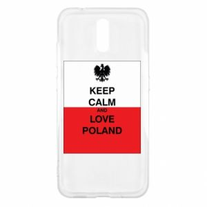 Etui na Nokia 2.3 Polska flaga z napisem