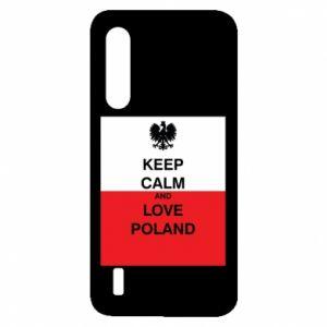 Etui na Xiaomi Mi9 Lite Polska flaga z napisem